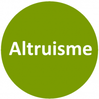 Altruisme - Vert blanc
