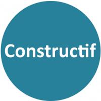 Constructif - Bleu blanc